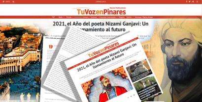 Стаття про Нізамі Гянджеві опублікована на іспанському порталі