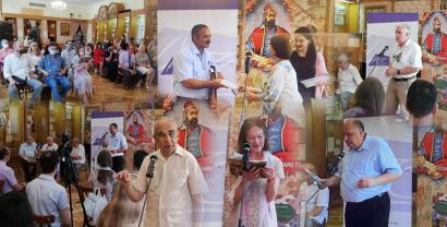 """La obra """"Leyli y Majnun"""" de Nizami Ganjavi se presentó en Kiev"""