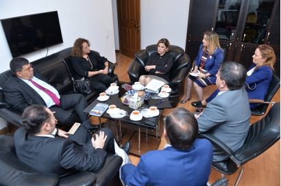 Minister of Education and Culture of the Turkish Republic of Northern Cyprus visits AzTC
