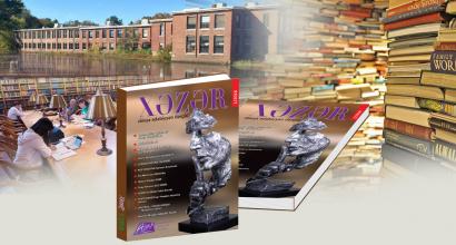 """Časopis světové literatury """"Chazar""""  je již na světových univerzitách a knihovnách"""