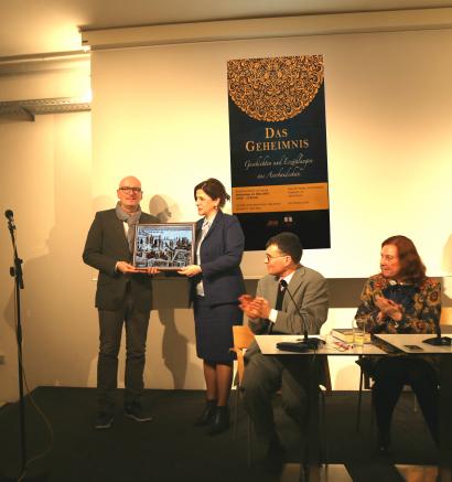 Ázerbájdžánská literatura byla reprezentována v Berlínu