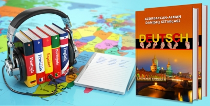 """""""Azərbaycan-alman danışıq kitabçası"""" nəşr olundu"""