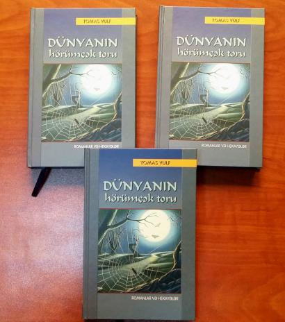 La novela corta y los cuentos de Thomas Wolfe fueron publicados en azerbaiyano