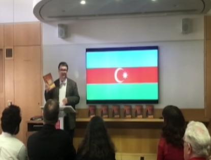 """""""داستان های آذربایجانی"""" در بریتانیا ارائه داده شد"""