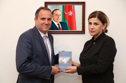 سفیر مجارستان در بنیاد ترجمه