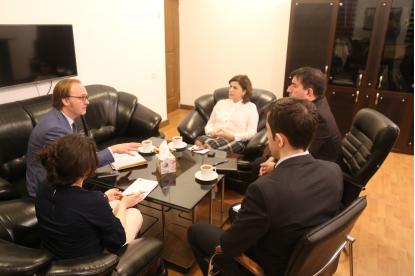 Fransa Büyükelçisi Yetkilisi Tercüme Merkezinde
