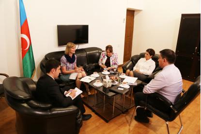Návštěva Překladatelského Centra oficiálním představitelem organizace NORLA