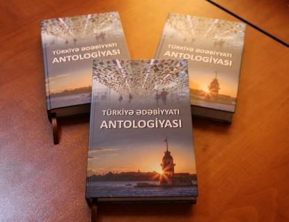 """""""Türkiyə ədəbiyyatı antologiyası"""" Azərbaycanda – ilk dəfə"""