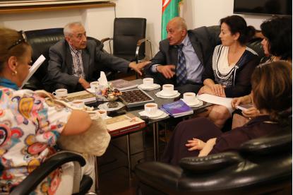 Delegace z Uzbekistánu navštívila Překladatelské Centrum