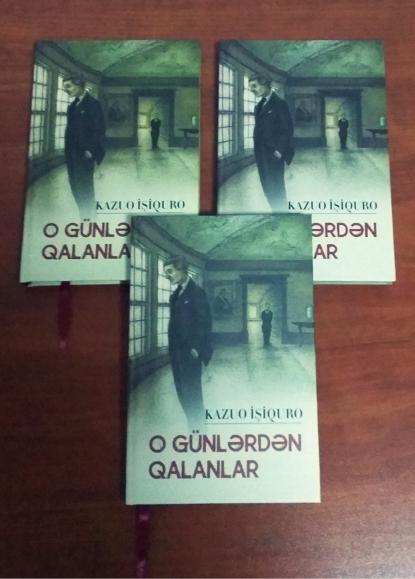 2017 Nobel Laureate's Novel Published in Azerbaijani