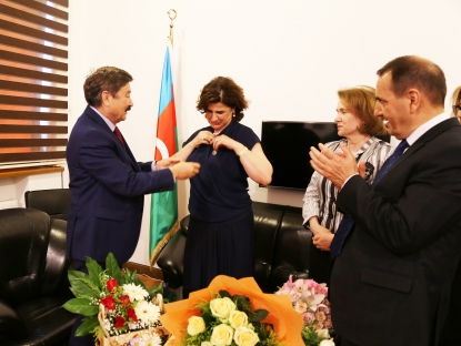 Afag Masud dostala medaili od TÜRKSOY