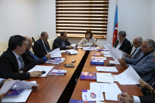 Состоялось первое заседание Научного Cовета  Центра Перевода Азербайджана