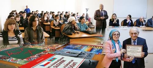 """عقد مركز مركز الترجمة الحكومي الاذربيجاني ندوة حول """"قضايا الترجمة"""" في جامعة باكو الأوراسية"""