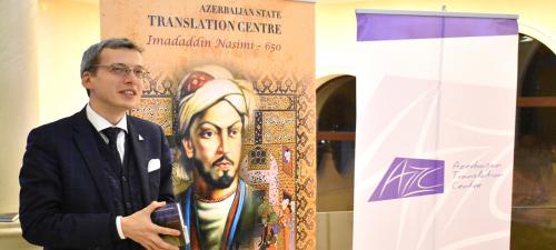 Ghaselsammlung von Nasimi in Charkiw präsentiert