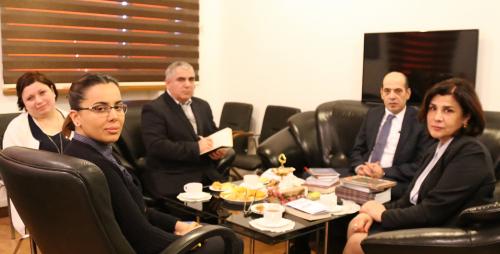 سفیر جدید اردن در مرکز ترجمه ی کشوری حضور یافت