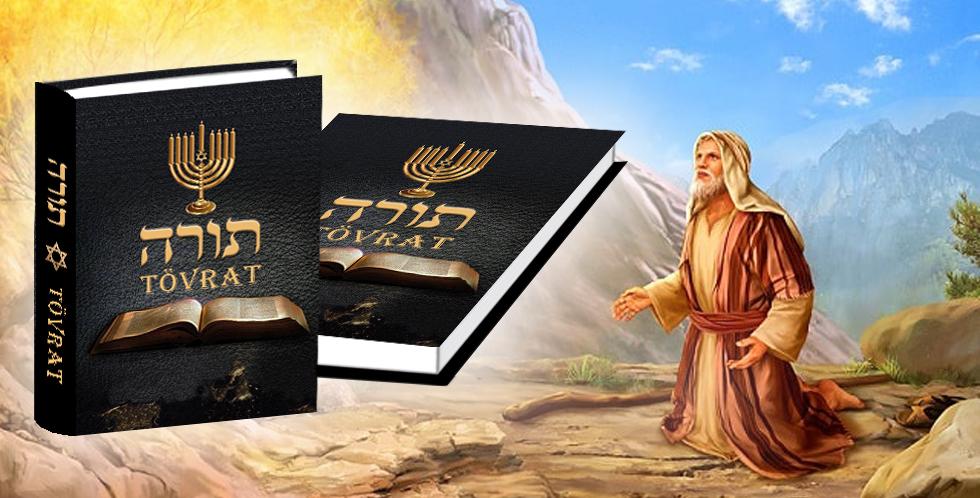 Vyšla nebeská kniha - svatá  Tóra